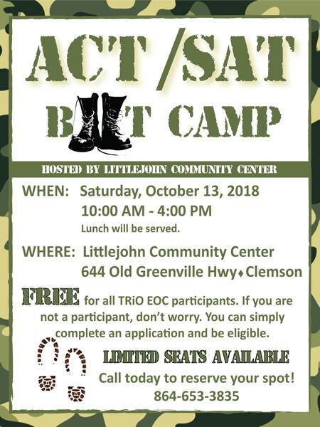 ACT/SAT Boot Camp