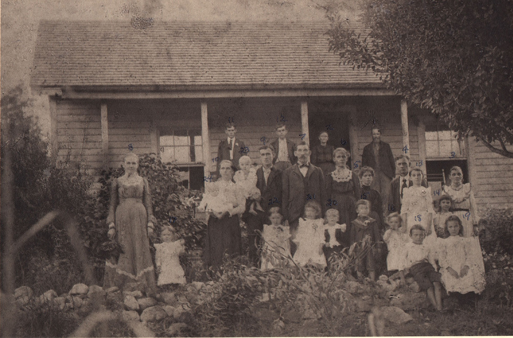 John Michael and Sophia Ramsey family - ca. 1902