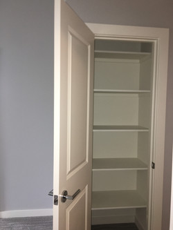 Linen Closet Shelving