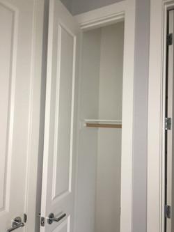 Hall Closet Shelving