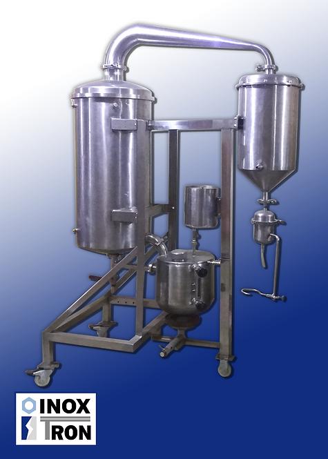 Extractor de aceites esenciales