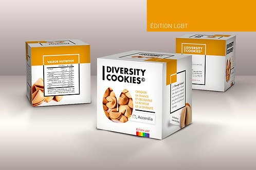 Diversity Cookies | Edition LGBT