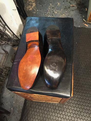 Men Leather 1/2 Soles & Combination Heels
