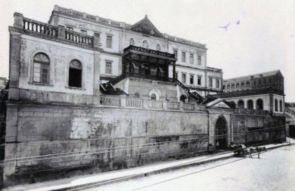 Vista da R. Fernando Machado em 1927