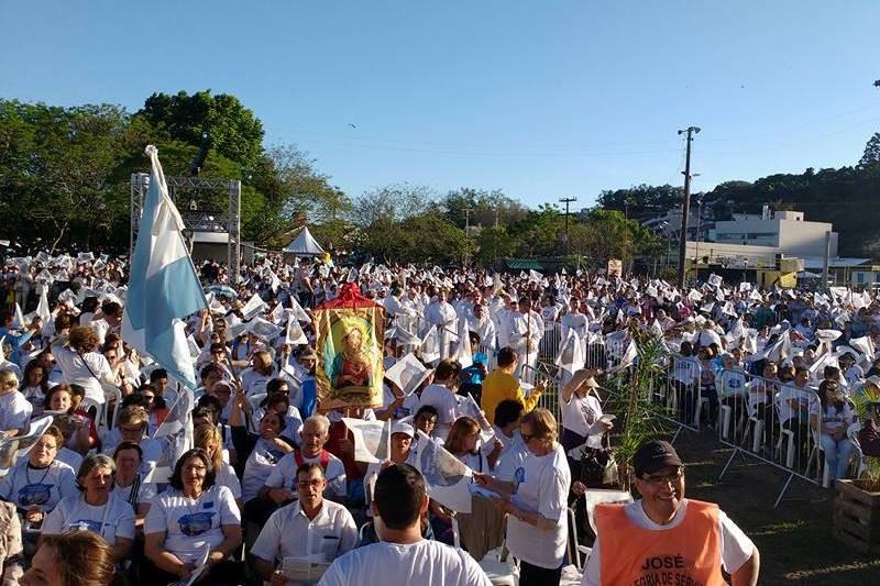 Tradicional evento mobilizou o vicariato de Guaíba. Foto: divulgação