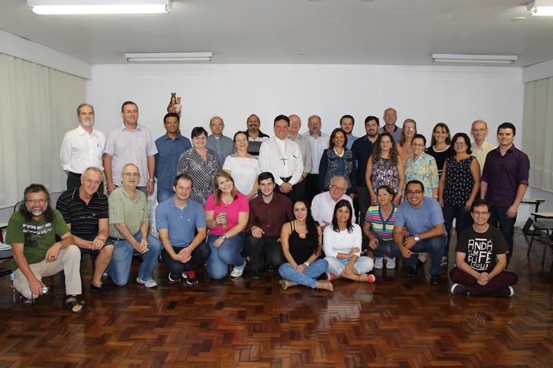 Pastoral da Educação do Rio Grande do Sul esteve reunida na última segunda-feira, dia 3. Foto: Amanda Fetzner Efrom