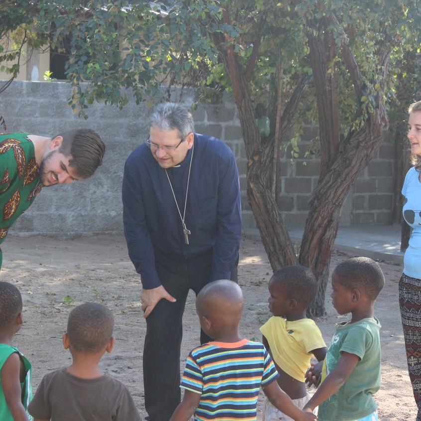 Dom Adilson em Moçambique