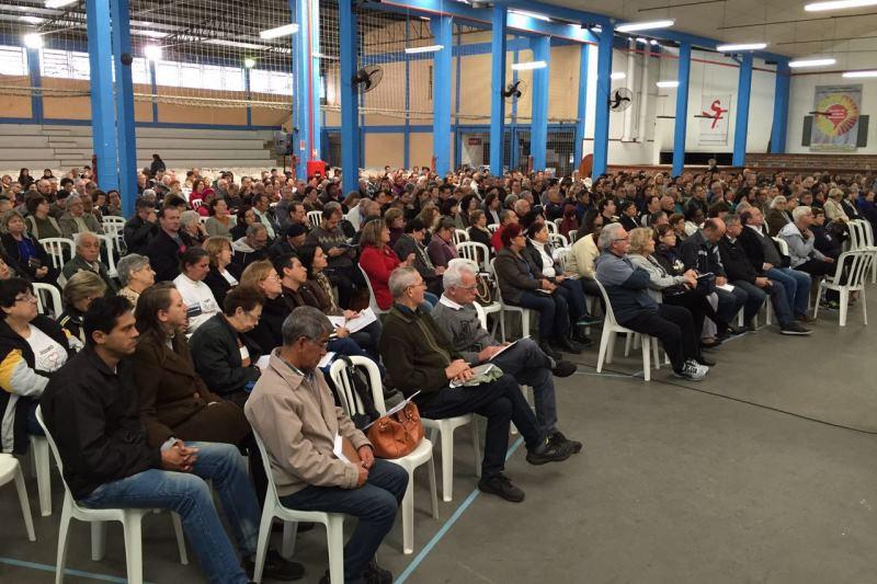 Formação realizada no ano passado reuniu cerca de mil pessoas. Foto: divulgação