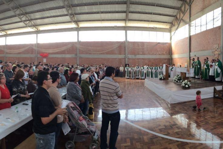 Festa começou com a celebração eucarística. Foto: Adriano Cristovam Bitencourt, divulgação