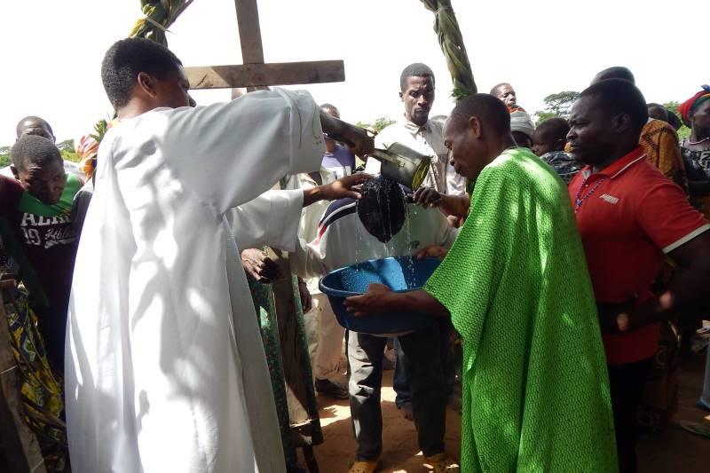 Trabalho missionário em Moçambique. Foto: divulgação
