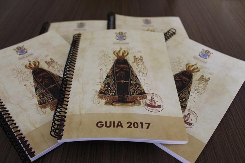 Guia 2017 faz referência ao Ano Mariano e aos 300 anos do encontro da imagem de Nossa Senhora Aparecida. Foto: Amanda Fetzner Efrom