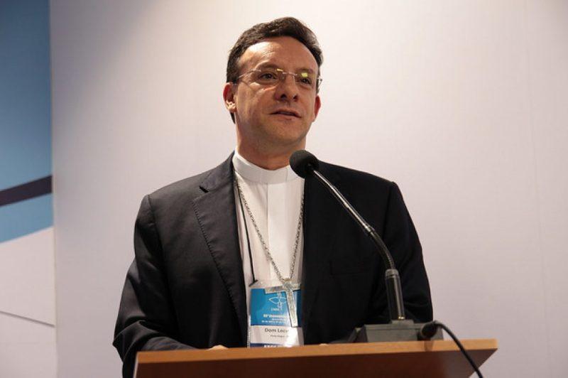 Dom Leomar falou sobre a Iniciação à Vida Cristã. Foto: Foto: Maurício Sant'ana