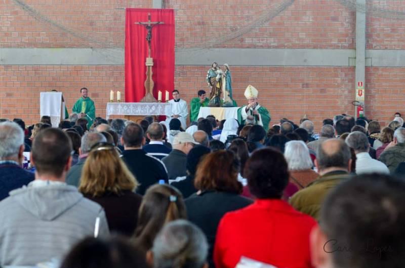 Em 2015 (foto) Dom Jaime Spengler presidiu a celebração eucarística. Foto: Carol Lopes Fotografias