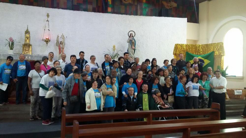 Encontro ocorreu no último fim de semana em Porto Alegre. Foto: Pascom paróquia Nossa Senhora da Glória