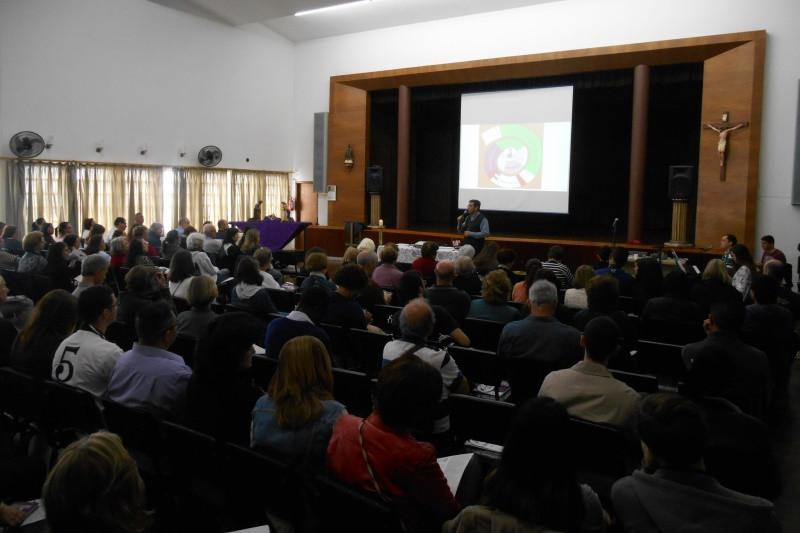 Formação ocorreu no Centro Pastoral, em Porto Alegre. Foto: Marcelo Mito