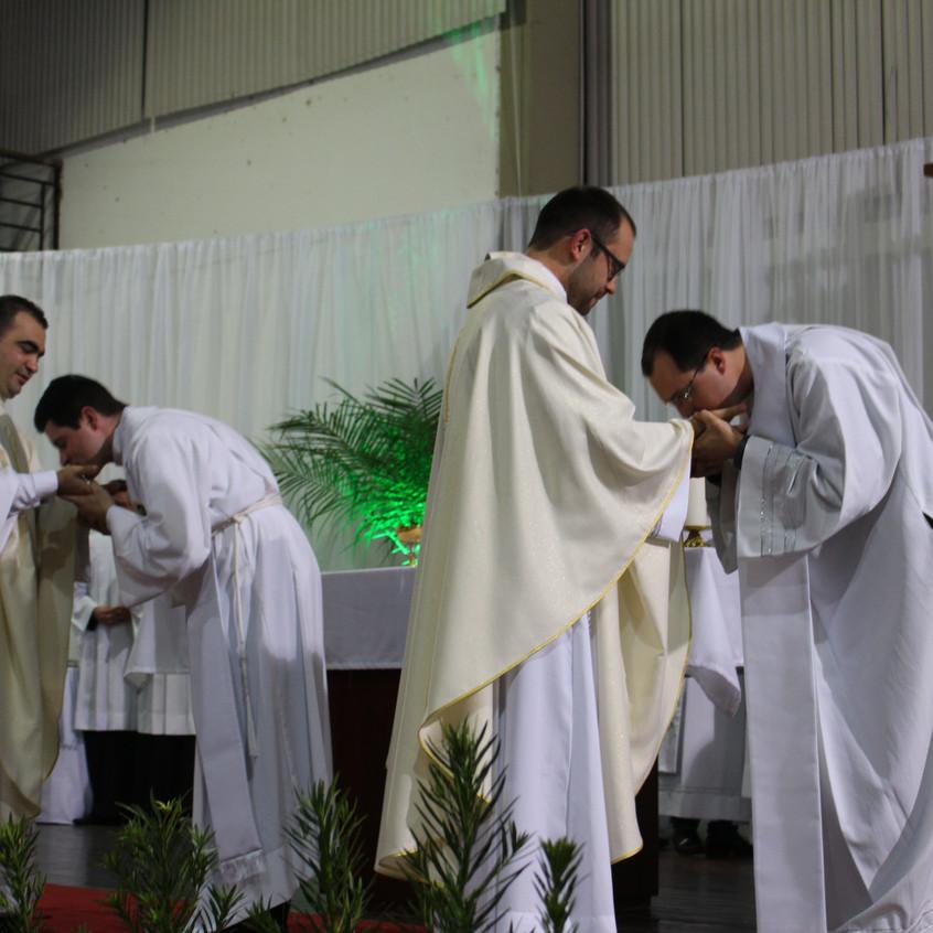 Ordenação padres Edivelton e Tiago