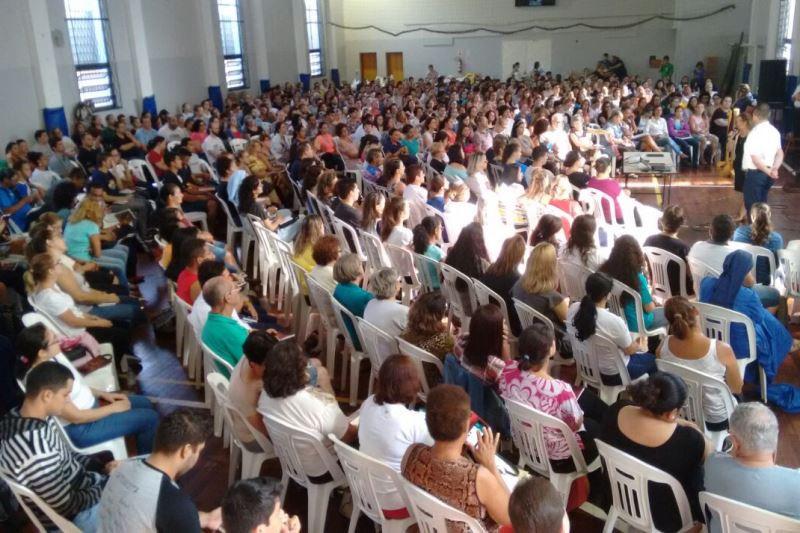 Encontro para novos catequistas reuniu cerca de 650 participantes. Foto: divulgação IVC