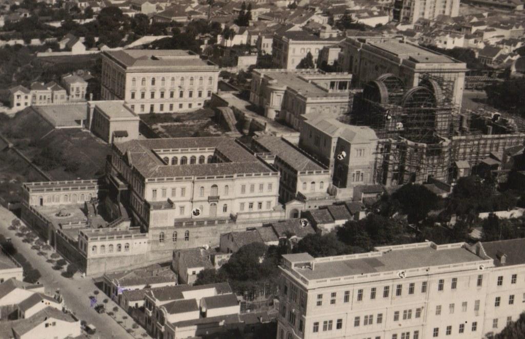 Cúria e da Catedral em 1950