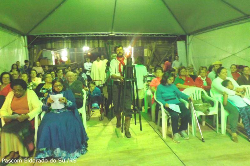 Missa Crioula já é tradicional na cidade. Foto: Pascom Eldorado do Sul