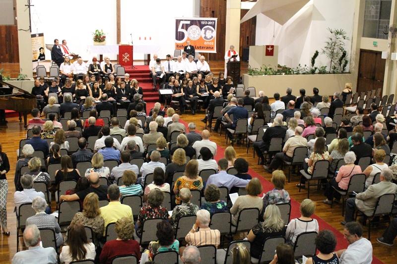 Evento na Igreja da Reconciliação
