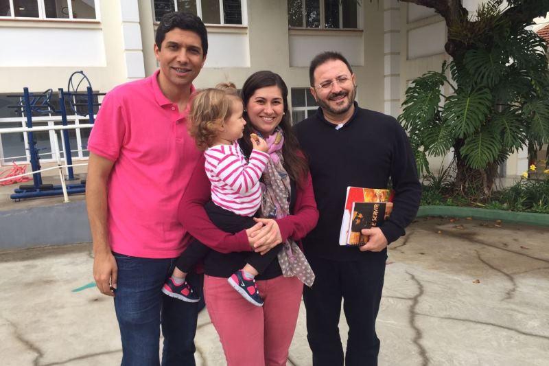 Eduardo e Michelle participaram da formação em São Paulo. Foto: arquivo pessoal