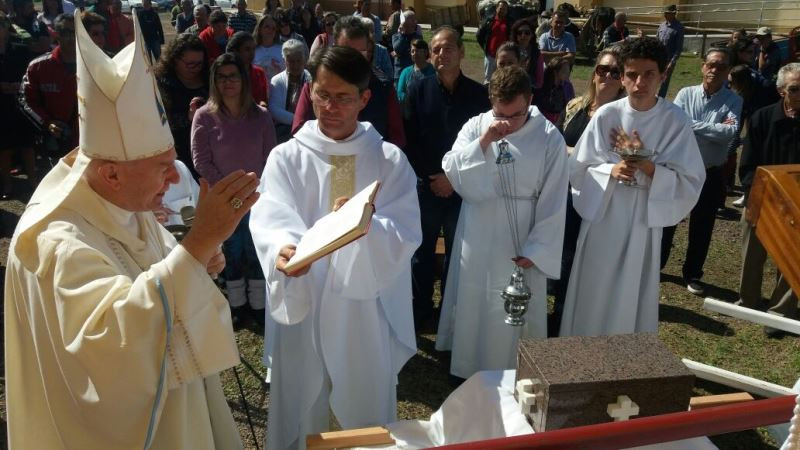 Dom Dadeus Grings participou das celebrações. Foto: divulgação