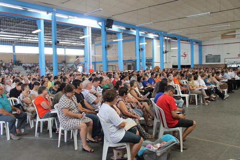 Nova estrutura foi apresentada ao novas propostas ao clero, laicato e consagrados. Foto: Pe. Rogério Flôres