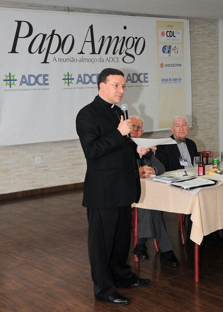 Dom Leomar Brustolin no Papo Amigo. Foto: Cristina Pereira