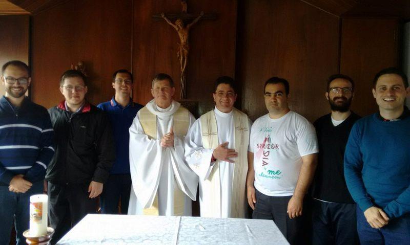 Pré-diaconos se preparam para a ordenação no início de dezembro. Foto: divulgação