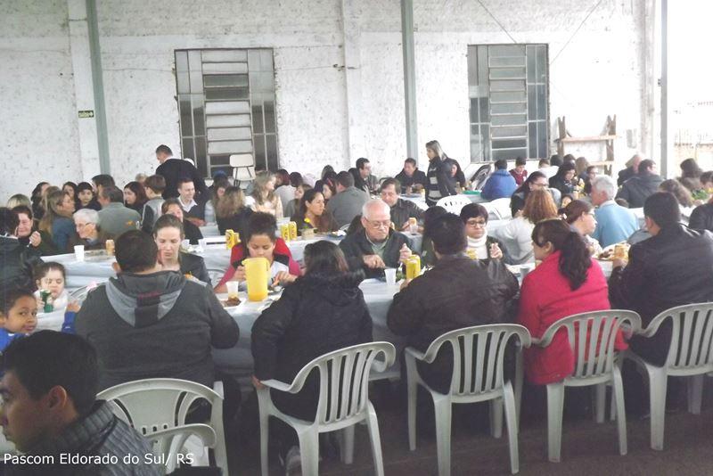 Festa ocorreu no último fim de semana. Foto: Pascom Eldorado do Sul