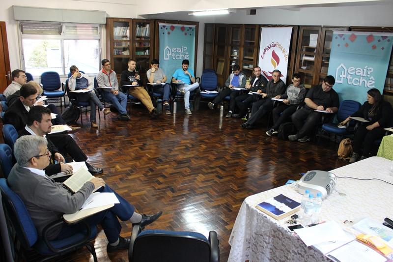 Assessores da juventude se reuniram nesta quarta-feira em Porto Alegre. Foto: Judinei Vanzeto