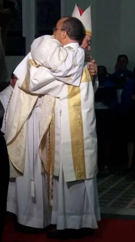 José Antônio foi ordenado por Dom Adilson Busin. Foto: paróquia São NIcolau