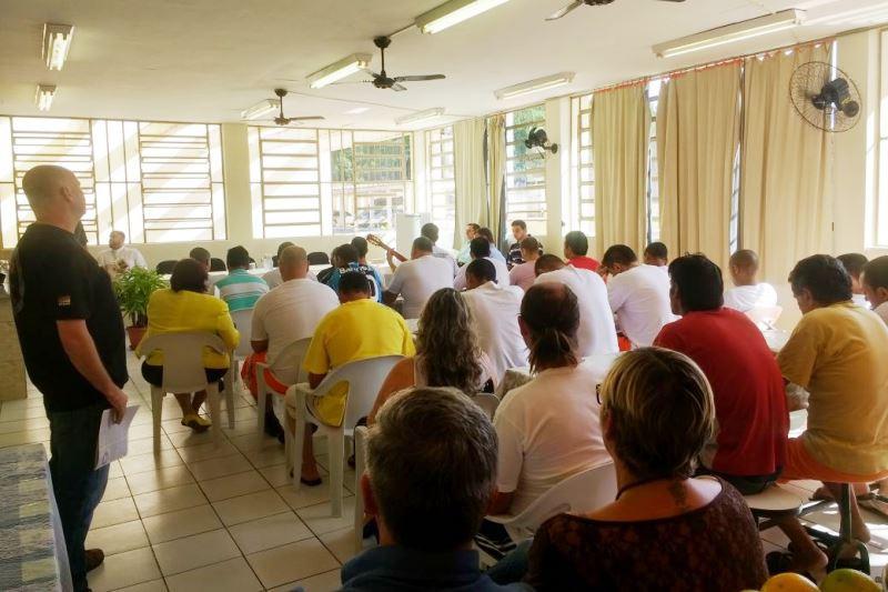 Trabalho da Pastoral Carcerária é realizado em diversas casas prisionais da Arquidiocese. Foto: divulgação