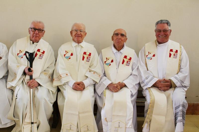 Padres com 50 anos de sacerdócio