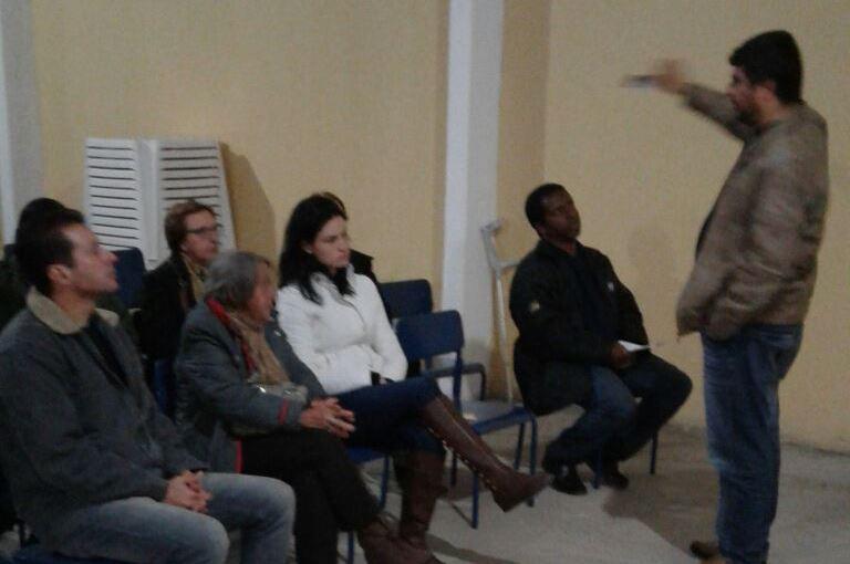 Pastoral do Dízimo da paróquia Santa Bárbara se reuniu nesta semana. Foto: divulgação