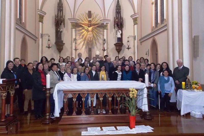 Encontro reuniu religiosos no último fim de semana. Foto: Vicariato de Canoas