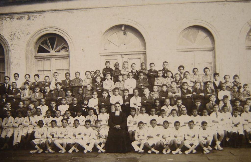 Escola São Sebastião em 1925