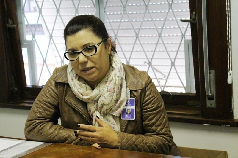 Adriane Barboza é assistente social e gestora da Casa de Apoio. Foto: Amanda Fetzner Efrom