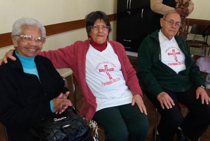Paróquia Santa Cruz foi uma das participantes do encontro. Foto: divulgação Serviço Social, Arquidiocese de Porto Alegre