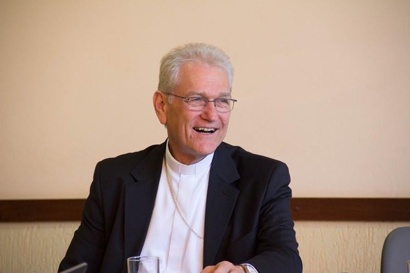 Dom Leonardo Steiner fala sobre festa de Cristo Rei. Foto: Maurício Sant'Ana, CNBB