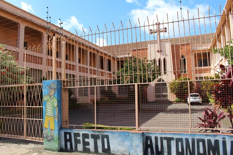 Acesso principal do imóvel fica na Avenida Sertório, no bairro Navegantes. Foto: Amanda Fetzner Efrom