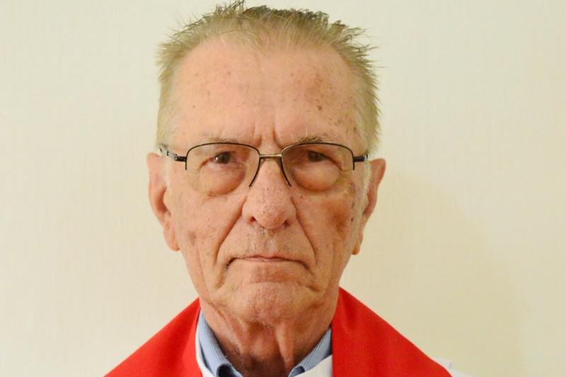 Pe. Hugo Büttenbender tinha 80 anos, 55 deles como sacerdote. Foto: Nelson S Pereira