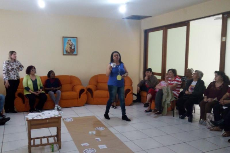 Setor de Serviço Social promoveu atividade pelo Mês do Idoso. Foto: divulgação Serviço Social
