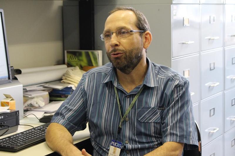 Professor Júlio César Bicca-Marques destaca a importância da ação de cada um em prol da conservação do meio ambiente. Foto: Nelson S. Pereira