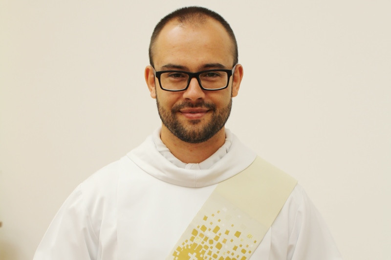 Tiago, que é da paróquia Nossa Senhora Medianeira, de Eldorado do Sul, será ordenado aos 29 anos. Foto: Amanda Fetzner Efrom