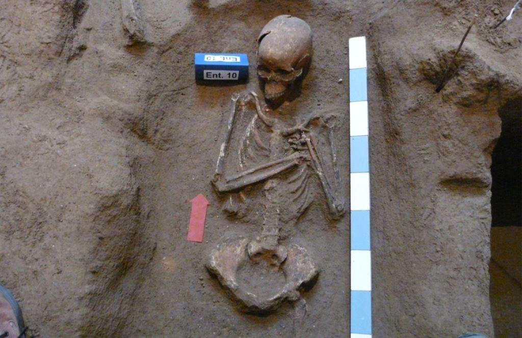 Covas encontradas nas obras da Cúria