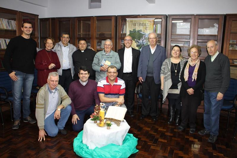 Pe. Edson Pereira esteve reunido com representantes da Pastoral Familiar no Rio Grande do Sul. Foto: Judinei Vanzeto