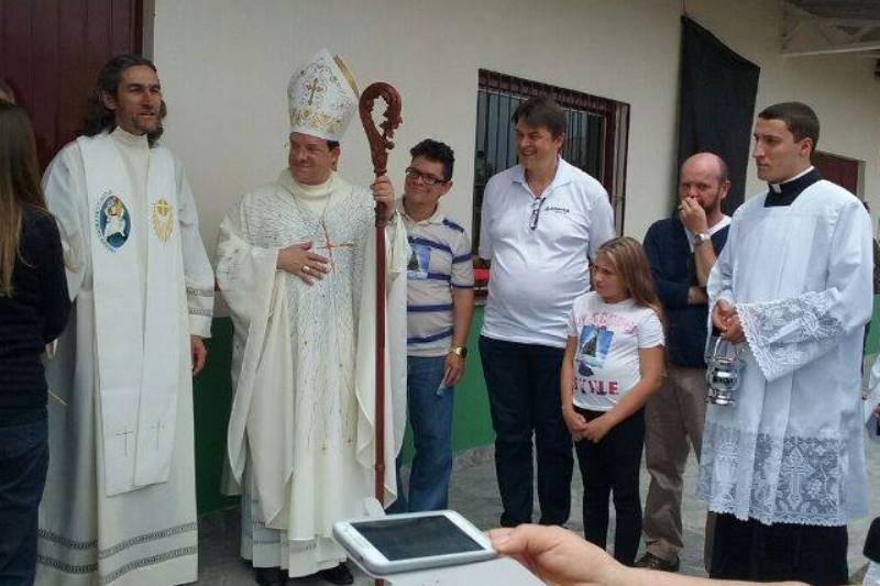Inauguração do Núcleo Comunitário