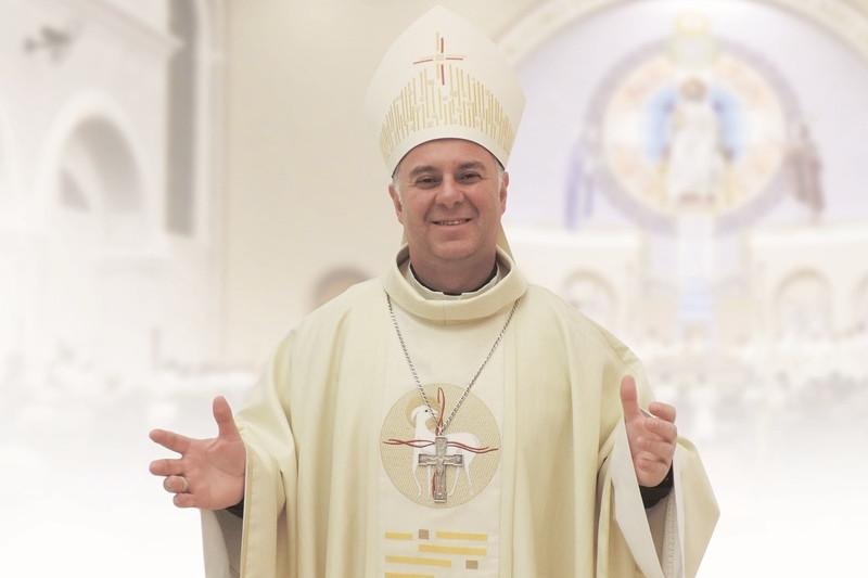 Dom Carlos Romulo servia como bispo coadjutor na Diocese de Montenegro. Foto: Ascom Diocese de Montenegro