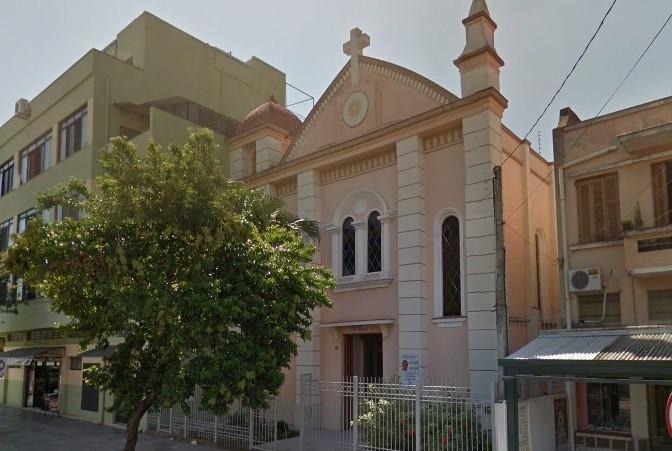 Capelania fica no bairro São Geraldo, em Porto Alegre. Foto: reprodução internet